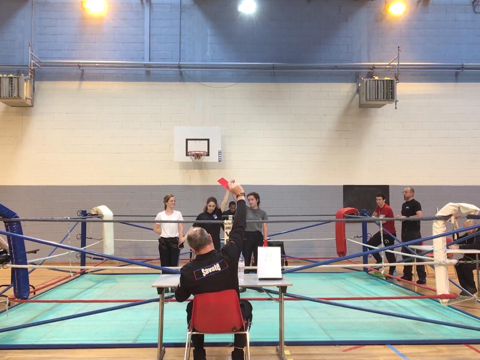 challenge des novices boxe francaise